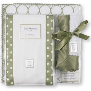 Подарочный набор SwaddleDesigns для новорожденного Gift Set Sage Mod on WH (SD-022S-G) specaily colitas quality premium gift box of tea gift set large