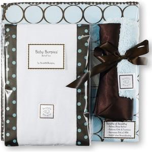 Подарочный набор SwaddleDesigns для новорожденного Gift Set Blue w/BR Mod C (SD-016PB-G)