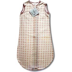 Спальный мешок SwaddleDesigns для детей TOG 0.7 zzZipMe Sack 6-12 M - Organic Flannel PP Dots and Hearts (SD-102PP-6M)