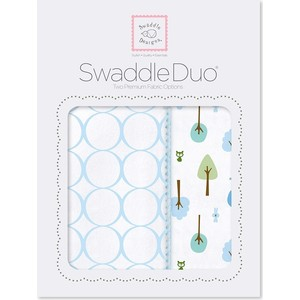 SwaddleDesigns Swaddle Duo PB Cute and Wild (SD-184PB) ahava набор duo deadsea mud набор дуэт