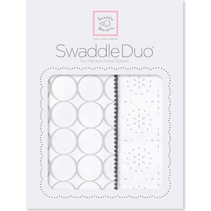 Набор пеленок SwaddleDesigns Swaddle Duo ST Mod C/Sparklers (SD-475ST)