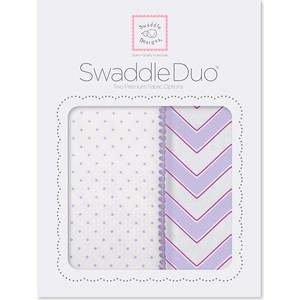 SwaddleDesigns Swaddle Duo LV Classic Chevron (SD-484L) ahava набор duo deadsea mud набор дуэт