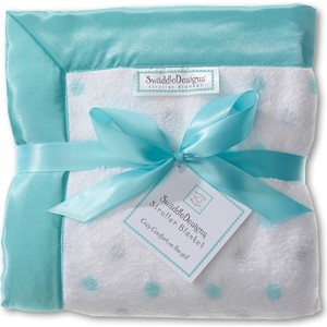 Детский плед в коляску SwaddleDesigns в коляску Stroller Blanket SCandSterlingDot(SD-430SC)
