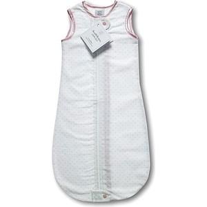 Спальный мешок SwaddleDesigns для новорожденного zzZipMe Sack 3-6M Flannel PP Polka Dots (SD-098PP)
