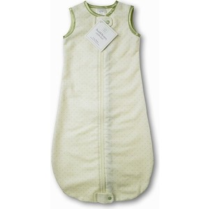 Спальный мешок SwaddleDesigns для новорожденного zzZipMe Sack 3-6M Flannel Lt KW w/KW Dots (SD-104KW) спальный мешок swaddledesigns для новорожденного zzzipme sack 3 6m flannel sc elephant and chickies sd 462sc 3m