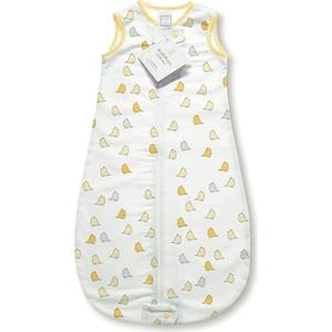 Спальный мешок SwaddleDesigns для новорожденного zzZipMe Sack 3-6M Flannel Y Lt Chickies (SD-433Y-3m)