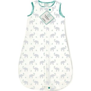 Спальный мешок SwaddleDesigns для новорожденного zzZipMe Sack 3-6M Flannel SC Elephant and Chickies (SD-462SC-3M) kimbe 3 6m хлопок фон ткань черный