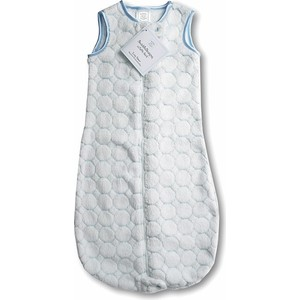 Спальный мешок SwaddleDesigns zzZipMe 3-6 М Pstl Blue Puff C (SD-084PB)