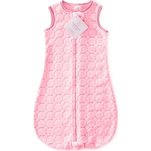 Спальный мешок SwaddleDesigns zzZipMe 3-6 М Pink Puff Circles (SD-166P-3M)