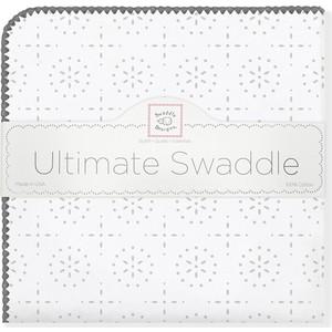 Фланелевая пеленка SwaddleDesigns для новорожденного ST Sparklers (SD-420ST)