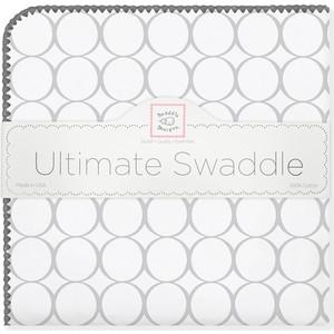 Фланелевая пеленка SwaddleDesigns для новорожденного Sterling Mod/WH (SD-022ST/SD-022KW) цена