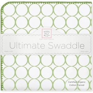 Фланелевая пеленка SwaddleDesigns Organic IV w/Kiwi Mod C (SD-161KW)