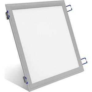 Встраиваемый светодиодный ультратонкий светильник Estares DL-18-300x300 Silver холодный белый