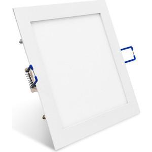 Светодиодный встраиваемый ультратонкий светильник Estares Estares DL-10-200x200 White холодный белый