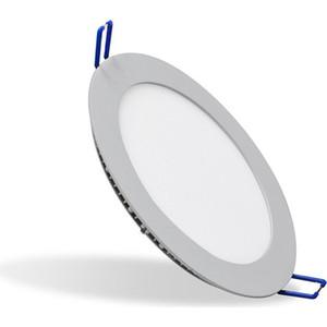Светодиодный встраиваемый ультратонкий светильник Estares DL-11 AC220V Silver холодный белый