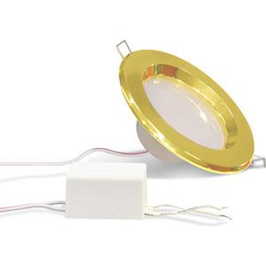 Фотография товара точечный светодиодный светильник Estares TH-75-5W Gold Теплый белый (483158)