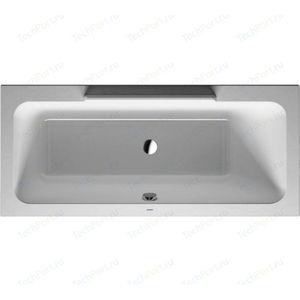 Акриловая ванна Duravit DURASTYLE 170x75 см с ножками (700297000000000+790100000000000) duravit durastyle 09351000051 wg антигрязь
