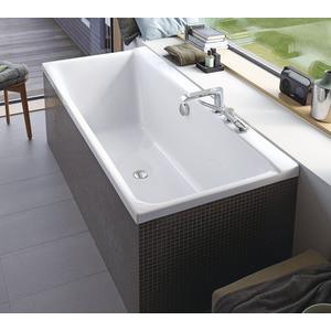Акриловая ванна Duravit P3 COMFORTS 170x75 см с ножками (700375000000+790100000000000) акриловая ванна duravit p3 comforts 700371