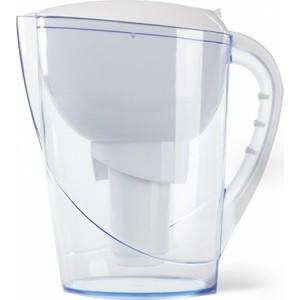 Фильтр-кувшин Гейзер Сириус белый (62044) фильтр кувшин гейзер сириус белый 62044