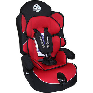 Автокресло Mr Sandman Little Passenger 9-36 кг Черный/Красный (AMSLP-0524KRES1033)