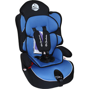 Автокресло Mr Sandman Little Passenger Isofix 9-36 кг Черный/Синий (AMSLPI-0525KRES1036)