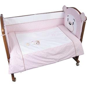 Борт в кроватку Сонный Гномик Умка Розовый (БСВ-0343176/2)