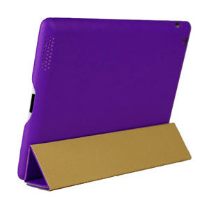 Чехол Good для Apple iPad 4 case smart cover Purple (GE-IP3VI-04)