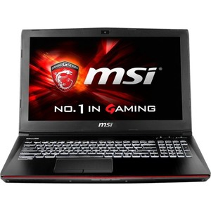 Ноутбук MSI GE62 2QC Apache Sharkbay Black (9S7-16J222-631)
