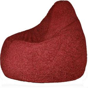 Кресло-мешок POOFF Груша бордовый