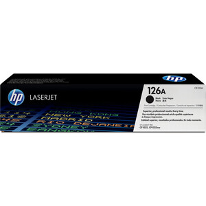 Картридж HP №126A (CE310A) 1set ce310a toner cartridge for hp color laserjet cp1025nw cp 1025 pro cp1025 100 color mfp m175nw m175 m175a nw m275 126a toner