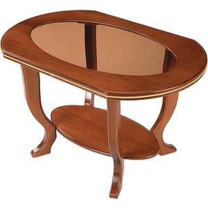 Стол журнальный Мебель Импэкс МИ Ретро стекло орех садовая мебель стол 150 90 72см столешница стекло 8мм комплектуется 7430037