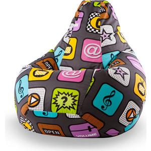 Кресло-мешок Пуфофф Smartphone XXL misterpufik кресло груша xxl премиум ромб 3