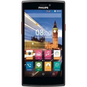 Смартфон Philips S337 Black Red (2 SIM)