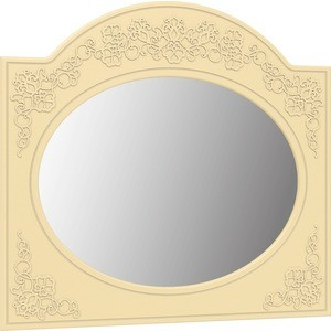 Зеркало Compass СО-3 ваниль ваниль шагрень