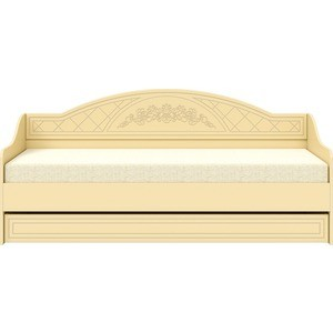Кровать Детская Compass СО-25 80х200 ваниль ваниль шагрень