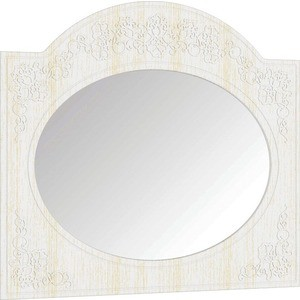 Зеркало Compass СО-3 ''Премум'' белый струк ясень патина