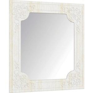 Зеркало Compass СО-20 ''Премум'' белый струк ясень патина