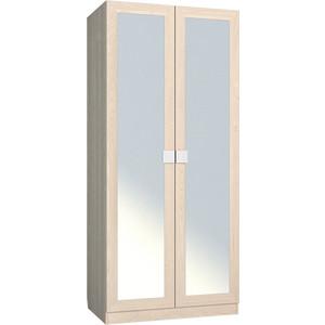 Шкаф Compass АМ-1 платяной с зеркалом береза/карпатская ель