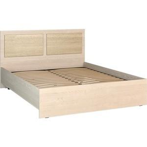 Кровать Compass АМ-13 1600х2000 (без ламелей) береза карпатская ель