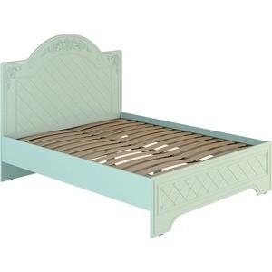 Кровать Compass СО-1 160х200 мята салат шагрень