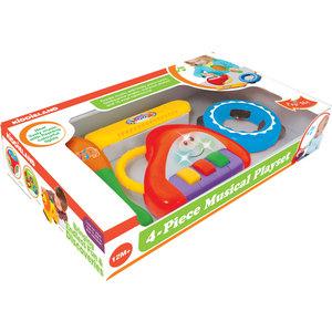 Развивающая игрушка Kiddieland Музыкальные инструменты (KID 053231) музыкальные инструменты kiddieland игрушка развивающая жираф