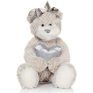 Мягкая игрушка Макси Тойз Мишка Белла с сердечком 23 см (MT-TS041007-33)