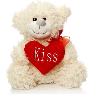 Мягкая игрушка Макси Тойз Мишка Арчик с сердцем 25 см (SUT-101209-25)