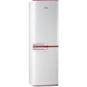 Холодильник Pozis RK FNF 172 W R белый с рубиновыми накладками на ручках холодильник pozis rk fnf 172 w b встроенные ручки черн накладки