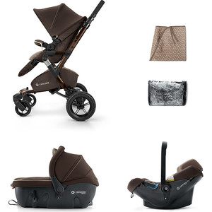 Коляска Neo Travel Set 3 в 1 Chocolate Brown (NASL0966R)