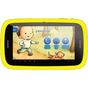 Планшет Qumo Kids Tab 2 4Gb Yellow-Blue 7""