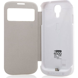 Чехол Gmini mPower Case MPCS45F White для Galaxy S4 (4500mAh)