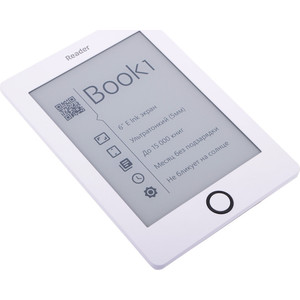 "Электронная книга Reader Book 1 6"" White"