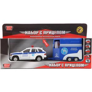 Игровой набор Технопарк С фургоном и лошадкой (CT10-027-1(SB))