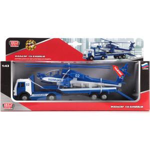 Трейлер Технопарк Милиция/полиция с вертолетомсвет (CT10-037-2)